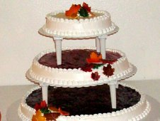 Wedding Cake Design with Cheesecakes