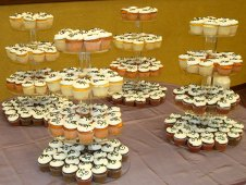 Wedding Cupcakes on Stands