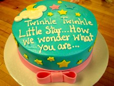 Twinkle Twinkle Little Star with Bow