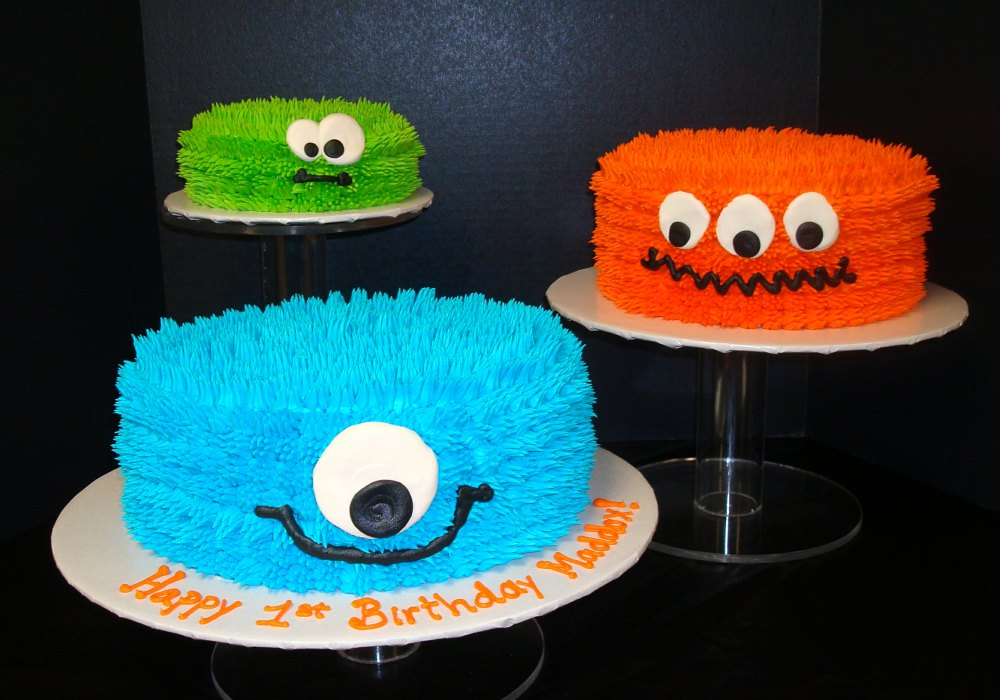 Kids Cakes X Fuzzy Monsters