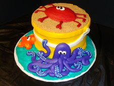Sand Bucket with Sea Creatures Special