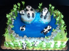 Koala Theme Birthday Cake
