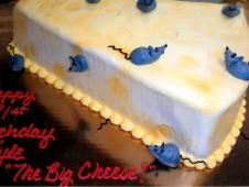 """The Big Cheese"" Theme Cake"