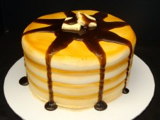 Pancake Birthday Cake