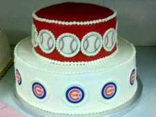 Cubs Theme Birthday Cake