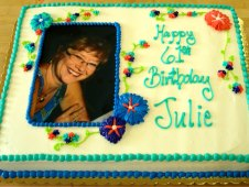 Portrait Birthday Cake
