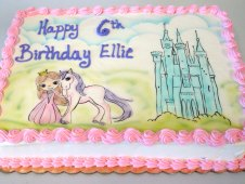 Princess Theme Cake