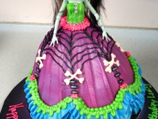 Zombie Princess Doll Cake