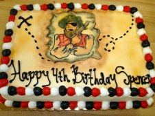 Pirate Theme Cake