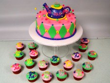 Tea Party Theme Cake