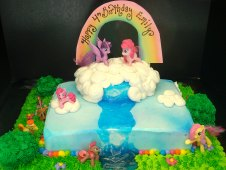 My Little Pony Theme Cake