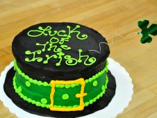 Luck of the Irish Cake