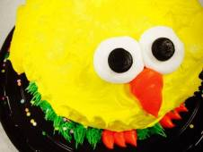"Easter ""Fat Chick"" Cake"
