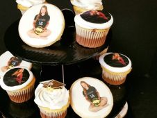 Graduation Portrait Cupcakes and Cookies