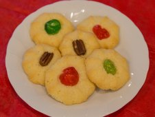 Christmas Cookies - Butter Coconut