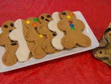 Christmas Cookies - Ginger Bread Boys