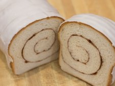 Frosted Cinnamon Bread