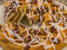 Pecan Ring Coffee Cake