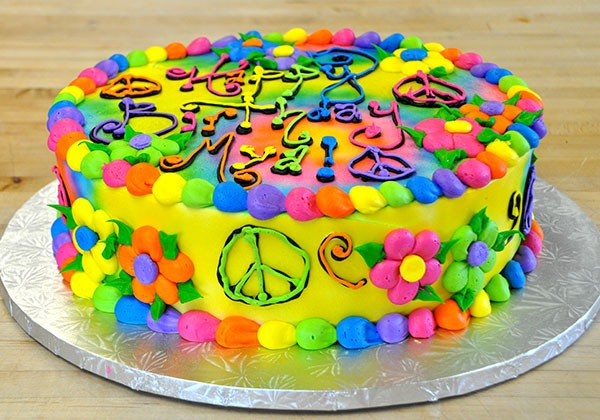 Decorated Cake Flavors Frosting Options Photo Cakes And