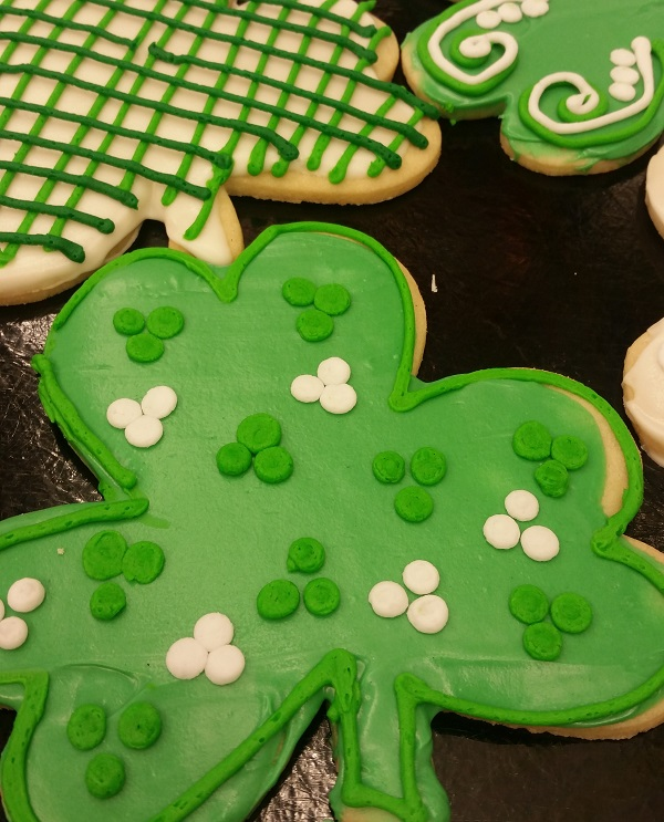 Shamrock Cookies at Linda's Bakery
