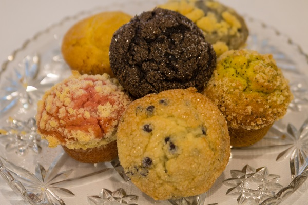 Muffins and Quick Breads at Lindas Bakery, West Salem, Wisconsin